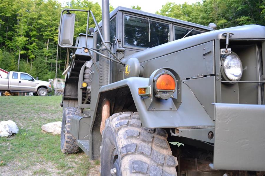1976 M35a2 Bobbed Dump 4x4 - Great Lakes 4x4  The largest