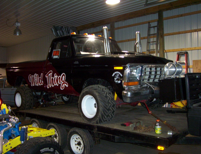 1979 Ford Super Stock Pulling Truck Turn Key New Price 14 000